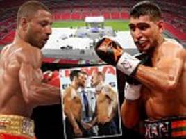 Kell Brook fighting Amir Khan at Wembley would be as big as Froch-Groves... then he could have a shot at Floyd Mayweather